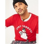 Soft-Washed Christmas Graphic Tee for Men