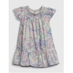Toddler Floral Smocked Dress