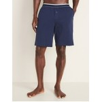 Jersey Pajama Shorts for Men -- 9-Inch Inseam