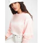 Vintage Soft Balloon Sleeve Crewneck Sweatshirt