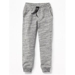 Gender-Neutral Drawstring-Waist Straight-Leg Joggers for Kids