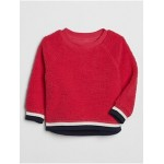 Toddler Sherpa Pullover Sweater
