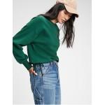 Vintage Soft Side-Tie Crewneck Sweatshirt