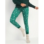 Thermal-Knit Pajama Leggings for Women